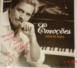 Photo: CD que o grande Maestro Eduardo Lages autografou pra gente antes do show.