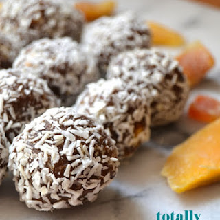Totally Tropical (healthier) Truffles