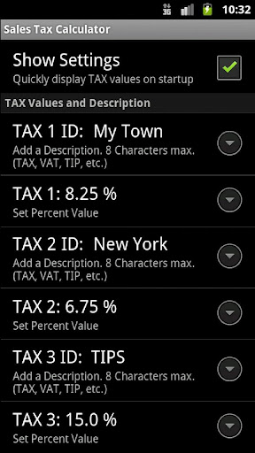 Sales Tax Discount Calculator screenshot