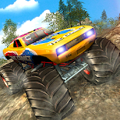 Offroad Monster Truck Rally : Challenging Race