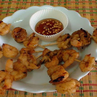 Honey Glazed Prawns