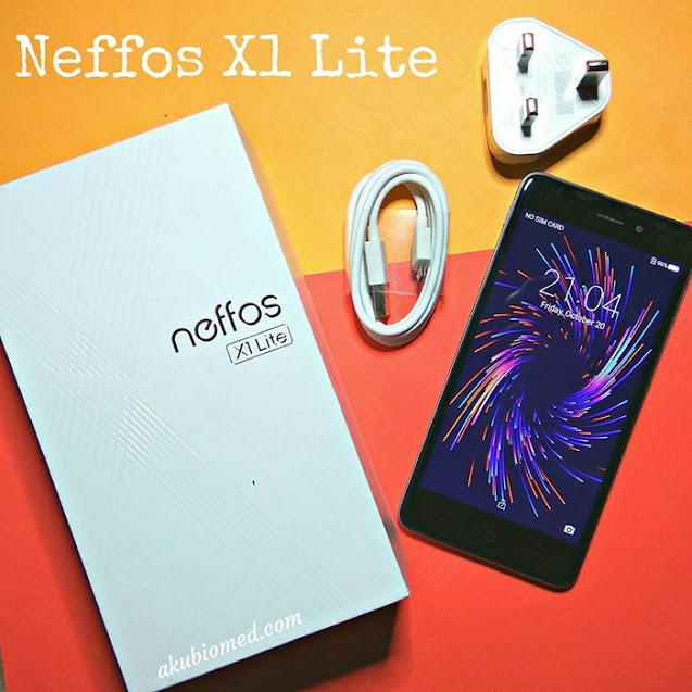 Telefon pintar Neffos X1 Lite