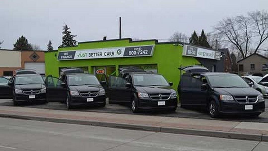 Just Better Cars >> Just Better Cars Used Car Dealer In Windsor