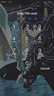 Anime HD Lock Screen - náhled