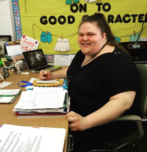 teachers desk me