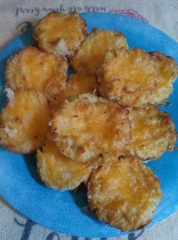 """""""Leftover"""" Mashed Potato Cheese Puffs"""