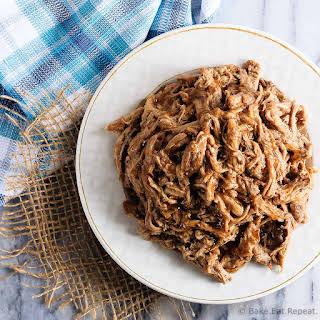 Slow Cooker Maple Balsamic Pork Tenderloin.