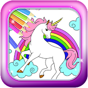 Unicorn coloring pages Games - Horse Colors