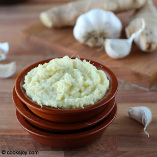 Homemade Ginger-Garlic Paste