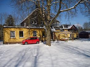 Photo: Bahnhof im Schnee versunken ;-)