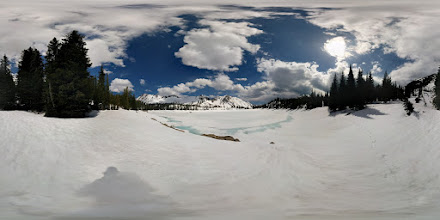 Photo: Crater Lake, Wallowas #photosphere