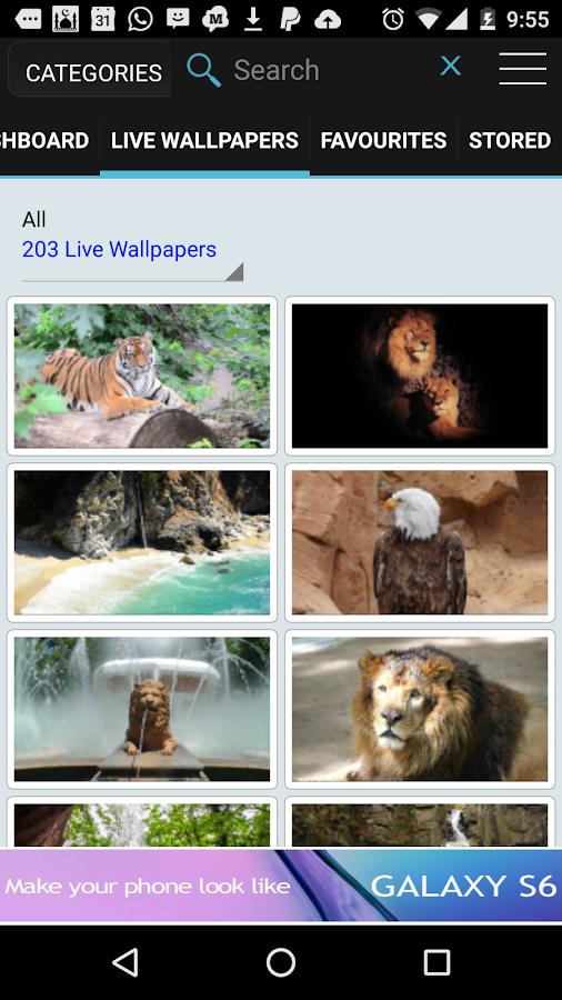 HD Video Live Wallpapers- screenshot