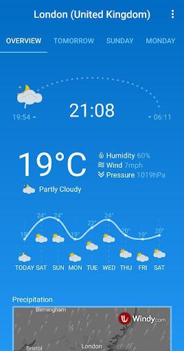 Weather Forecast (free & no ads) 1.33 screenshots 5
