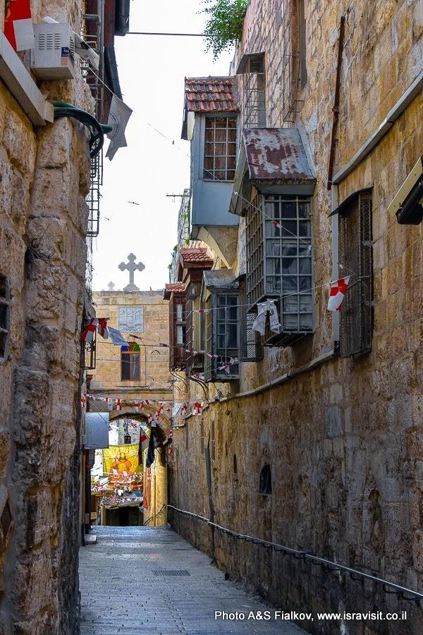 Христианский квартал Иерусалима. Греческая Патриархия.