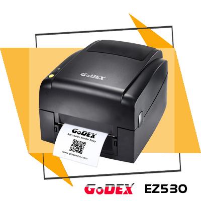 Thiết kế nhỏ gọn, dễ dàng lắp đặt, vận hành cũng như thay lắp mực trong quá trình sử dụng, máy in mã vạch GoDEX EZ530 trở nên lý tưởng để ứng dụng tại trường học