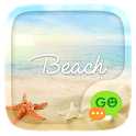 (FREE) GO SMS BEACH THEME icon