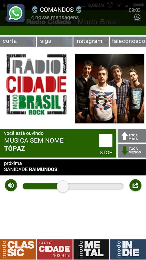 Rádio Cidade- screenshot