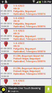 GPS Route Finder screenshot 01