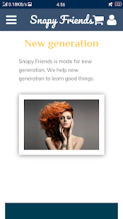 Snapy Friends - Connect with the world - náhled