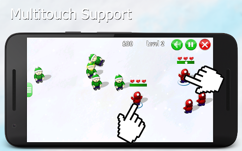 Snowball Fighters - Winter Game - náhled