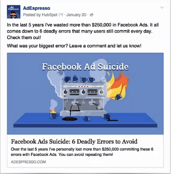 Facebook Ads with webinar offers to Optimize Your Marketing Funnels