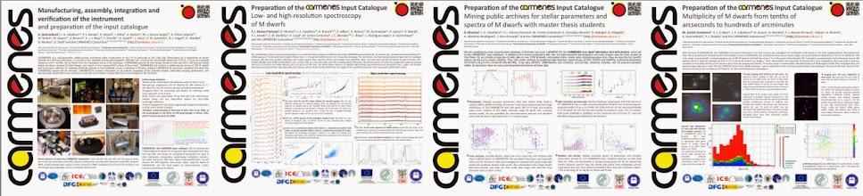 "Photo: CARMENES posters ready to the ""Cool Stars 18"" meeting #cs18 http://carmenes.caha.es"