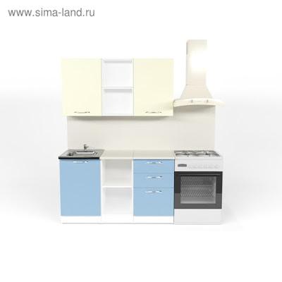 Кухонный гарнитур Алиса медиум  4 1400 мм