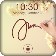 Signature Lock Screen