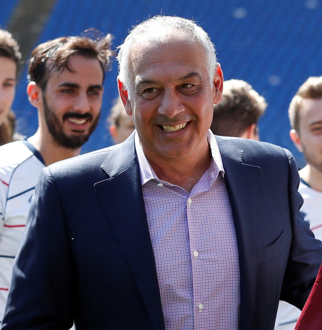 Roma chairman James Pallotta. Picture: REUTERS