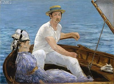 Photo: Boating, 1874