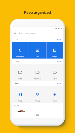 Google Keep - Notes and Lists 5.20.321.03.40 screenshots 3
