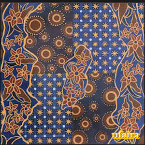 Indonesian Batik Design