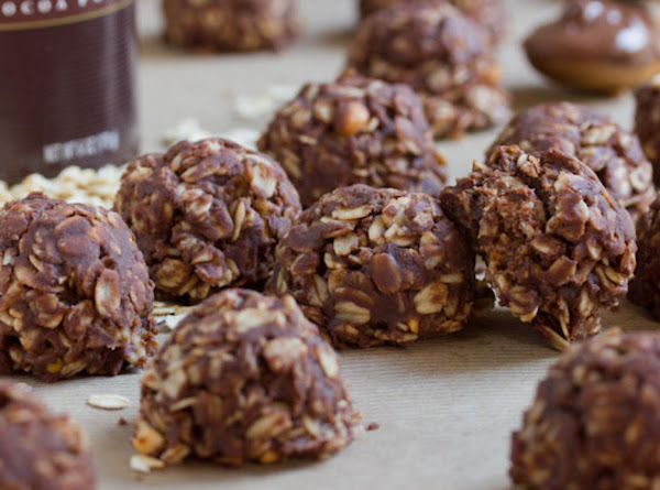 No-bake Nutella Peanut Butter Cookies Recipe