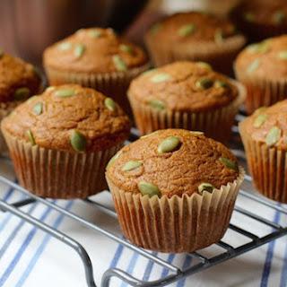 Honey n' Pumpkin Spelt Muffins