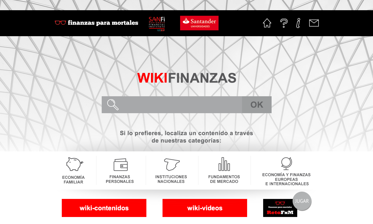 WikiFinanzas- screenshot