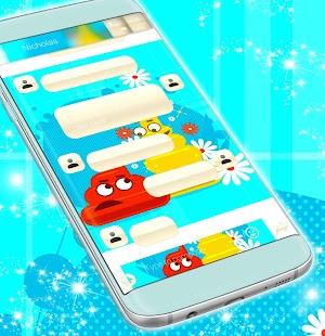 Aplikace SMS s Emoji - náhled