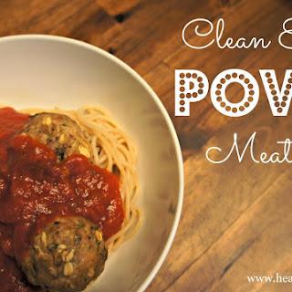 Clean Eating Power Meatballs