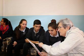 Photo: Préparation du voyage en France des élèves de l'école grecque melkite à Ramallah
