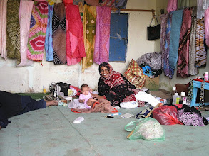 Photo: 04.01.2010r. BOUTLINIT w Mauretanii - warsztat krawiecki