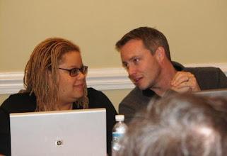 Photo: Ally Gordon Smith, now on the Asheville City Council.