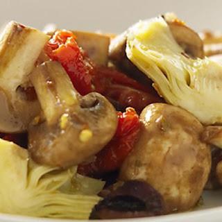 Mushroom Antipasto Salad.