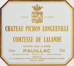Photo: Chateau Pichon: http://www.winecellarage.com/catalogsearch/result/index/?limit=all&q=pichon+lalande