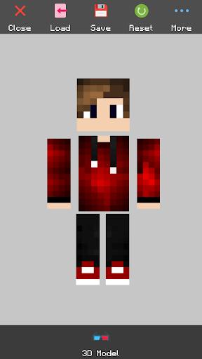 Custom Skin Editor Lite for Minecraft 2.8.0 screenshots 5