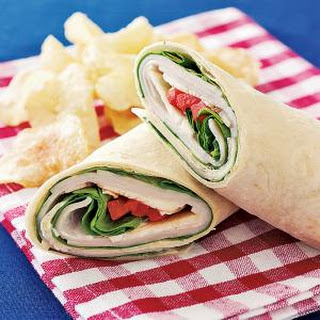 Instant Turkey Wrap.