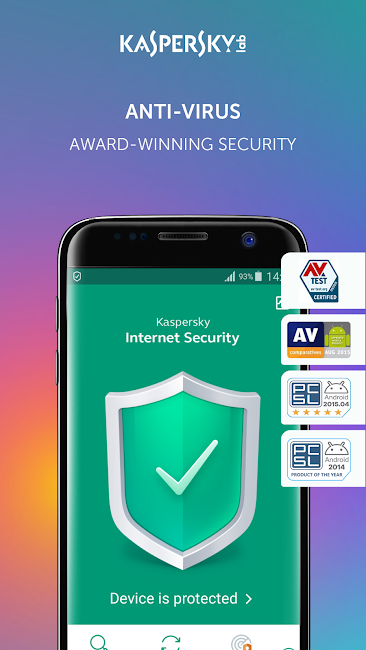 #2. Kaspersky Antivirus & Security (Android)