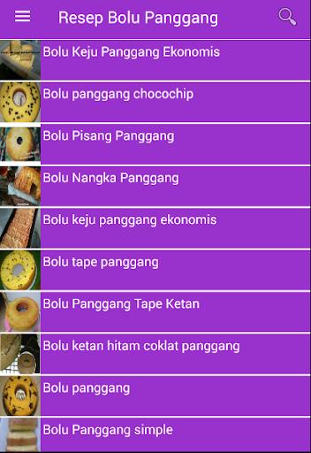 Resep Bolu Panggang for PC