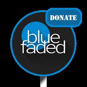 Blue Faded Donate - CM12/12.1