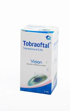 Tobraoftal 0.3% Solución   Oftálmica Frasco x5ml. MK Tobramicina