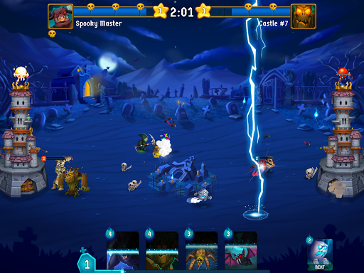 Spooky Wars - Castle Battle Defense Strategy Game modavailable screenshots 6