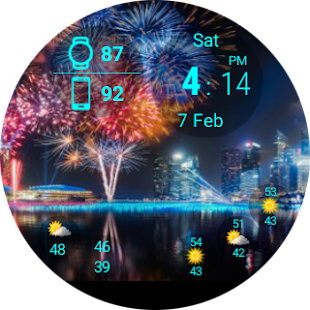 Mural Watchface Screenshot 9